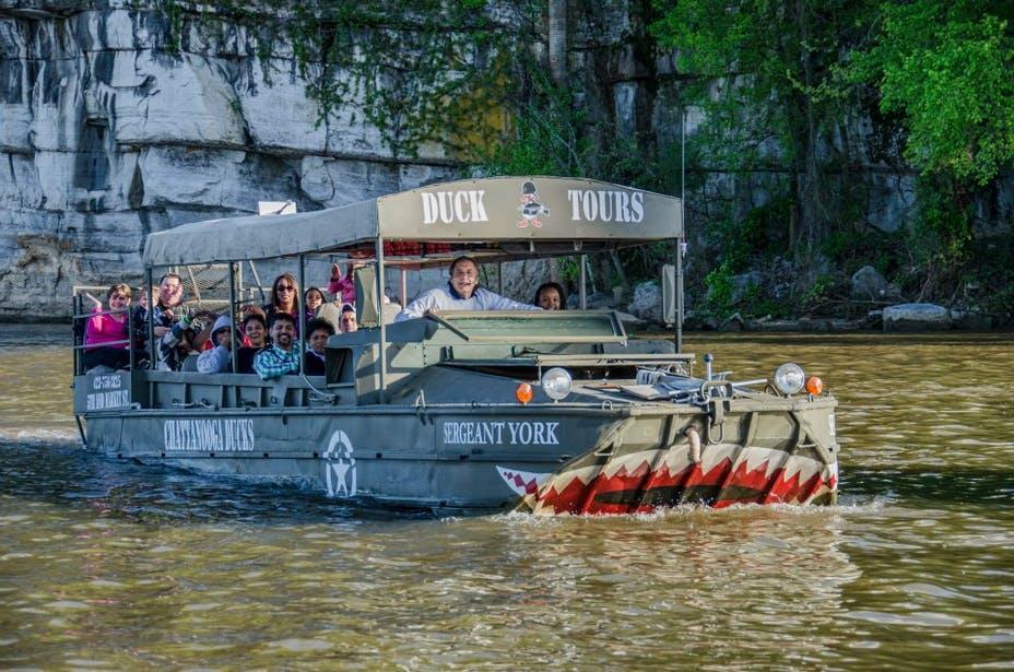 Chattanooga water activities